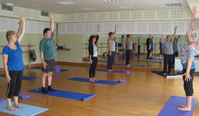 Yoga à Maubourguet