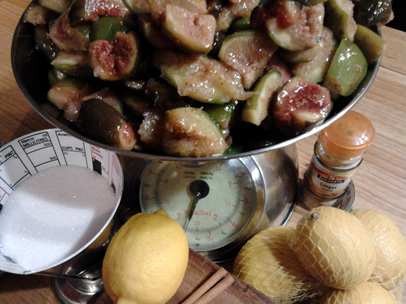 Jam made with Lahitte Toupiere figs