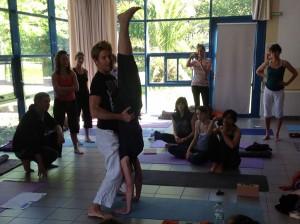 Yoga in Biarritz