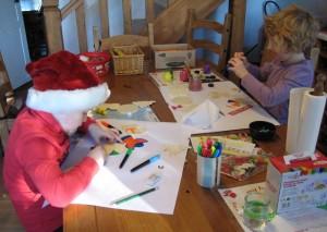 Christmas making