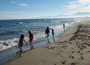 Canet Beach, The Med