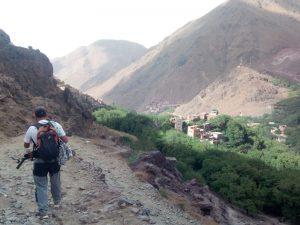 Notre guide de randos, Hassan, et le Kasbah