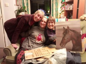 Happy sisters and mum.